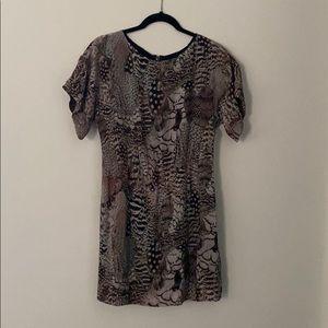 Rag & Bone Silk Animal Dress